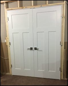 Superieur Hanging Interior Doors Before Drywall