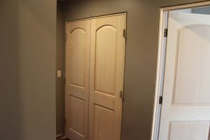 final double door installation