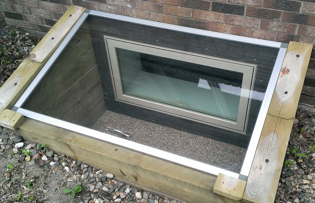 installing an egress window well