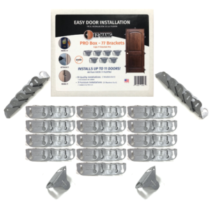 bulk door installation brackets