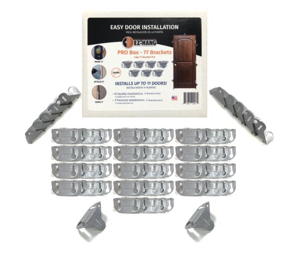 bulk door installation brackets